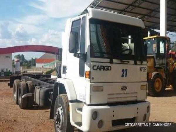 Ford Cargo 1722 6x2 Ano 03/03 Chassi